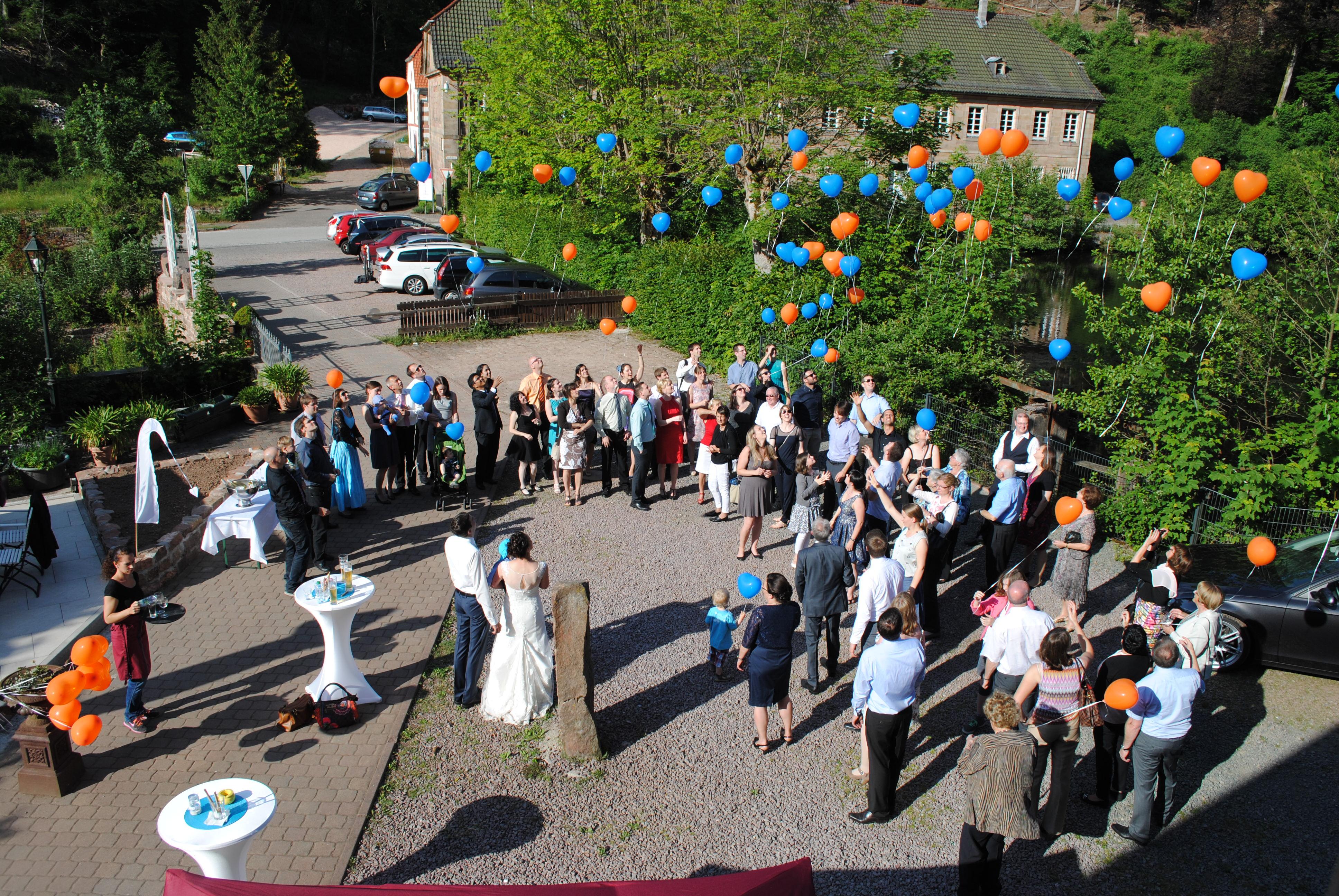 Hochzeitsfeier | Unterhammer im Karlstal